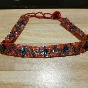 Jeweled chocker used